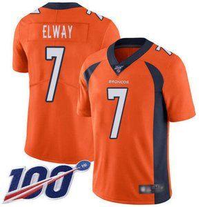 Broncos John Elway 100th Season Jersey 1